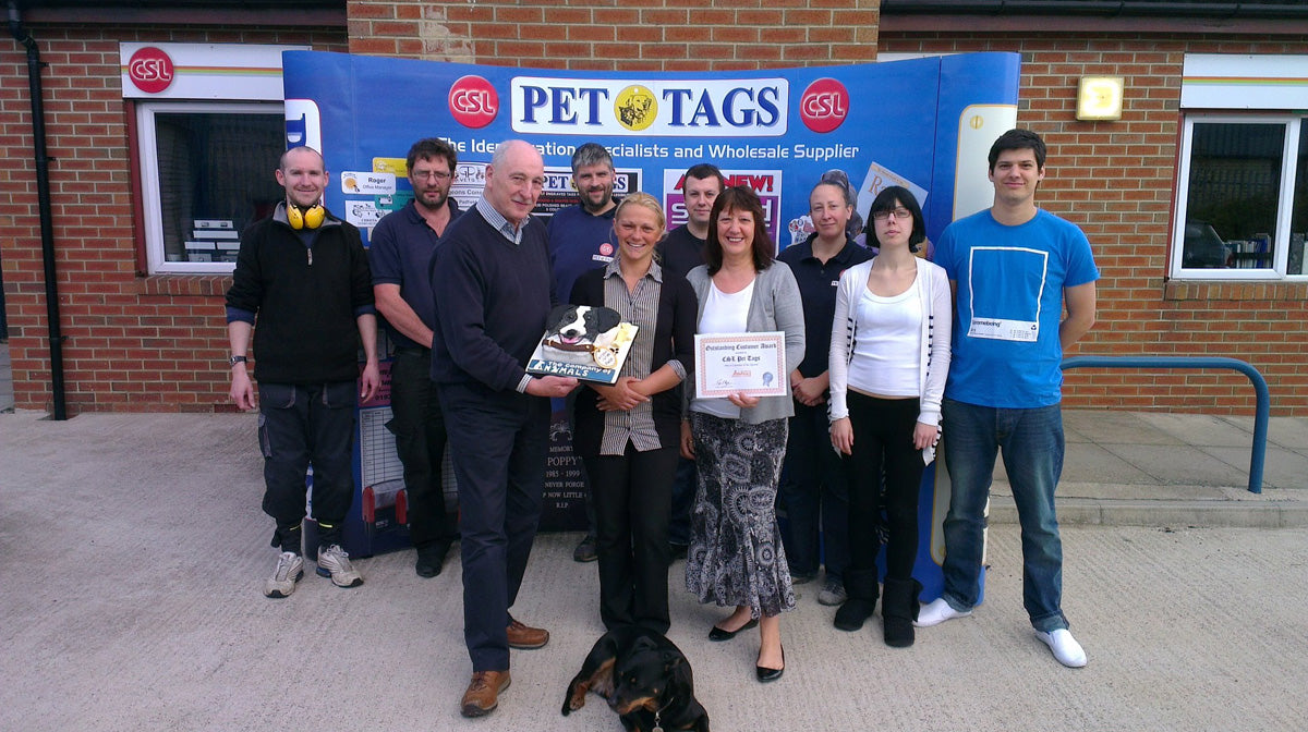 Pet Tags Team Image