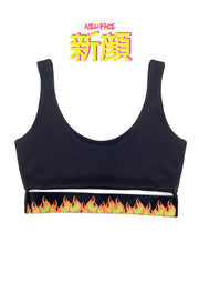 FIRE CROP TOP COLLAB