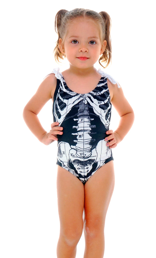 SKELETON SWIMSUIT GIRL
