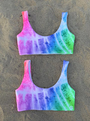 CROP TOP REVERSIBLE TIE DYE