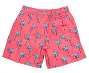 NEON PALM TREES SWIM SHORTS