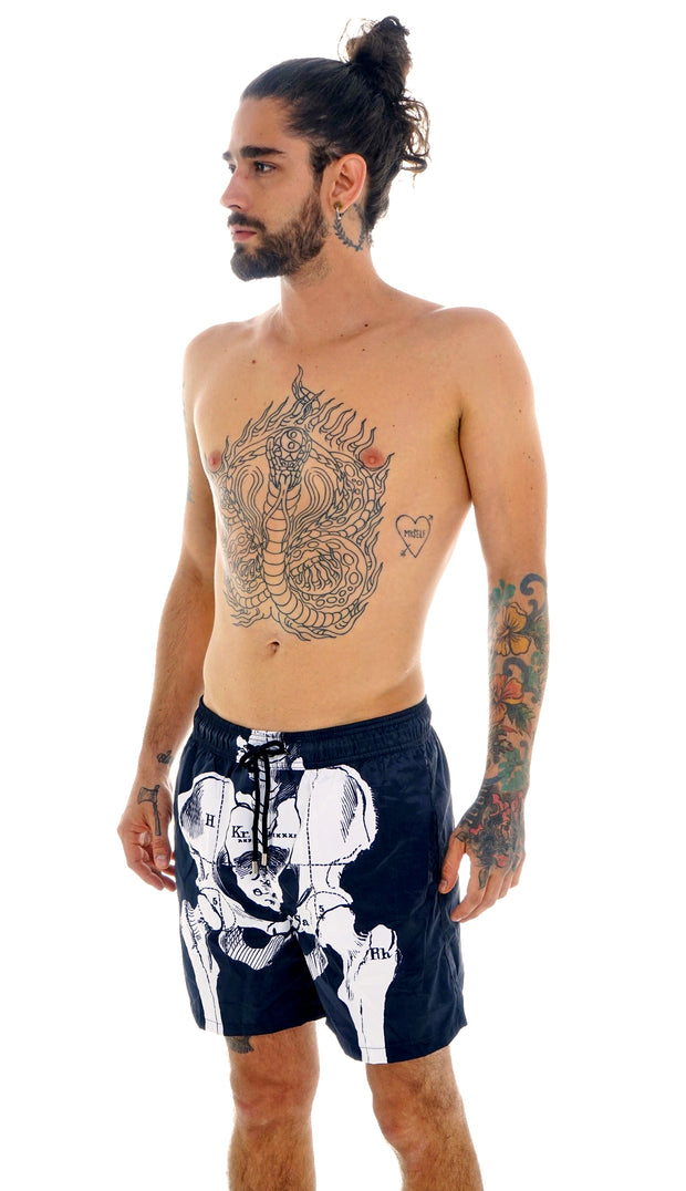 SKELETON SWIM SHORTS