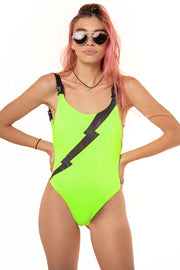 LIGHTNING REFLECTIVE SWIMSUIT