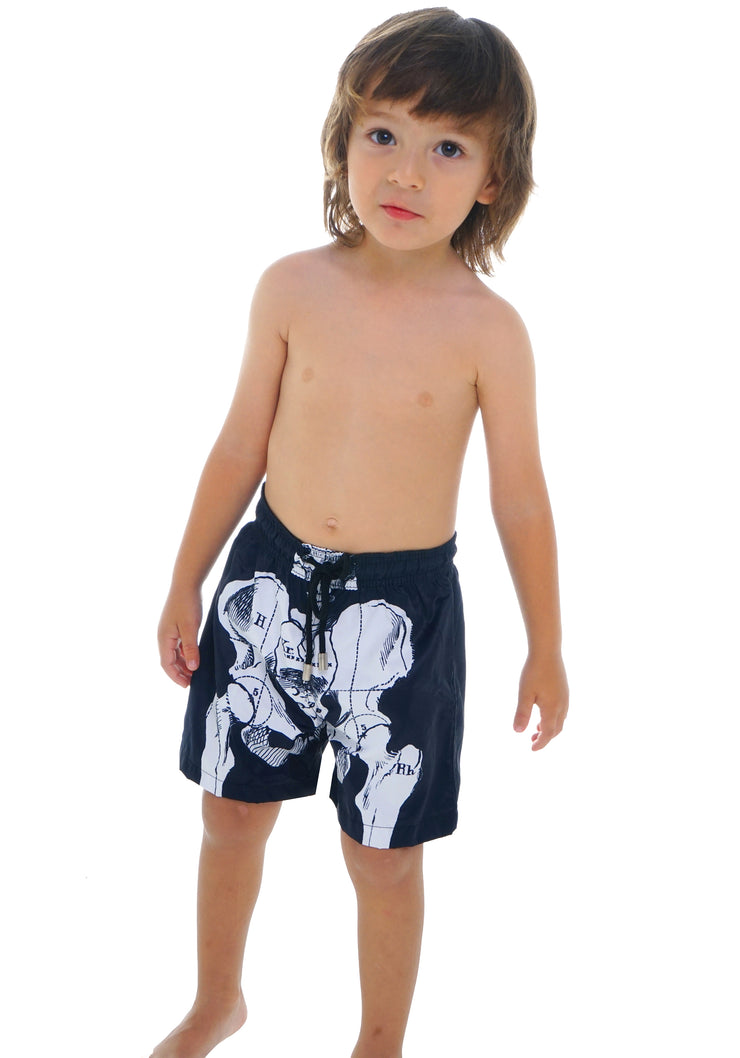 SKELETON SWIM SHORTS BOY