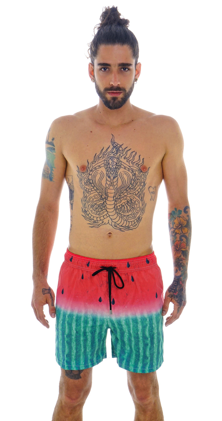 WATERMELON SWIM SHORTS