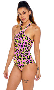 ENTERIZO HALTER LEOPARDO TOWERS SWIMWEAR