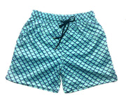 MERMAID SWIM SHORTS