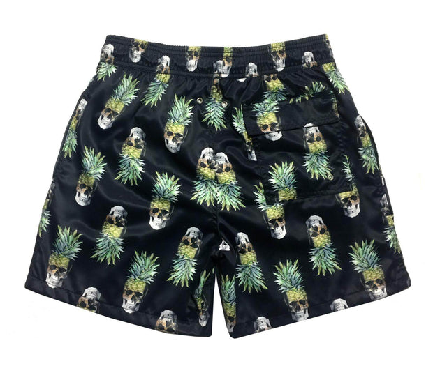 PINEAPPLE SKULL SWIM SHORTS