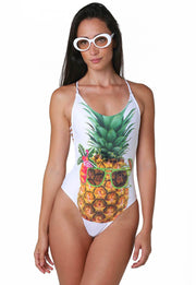 TROPICAL PINEAPPLE SWMSUIT