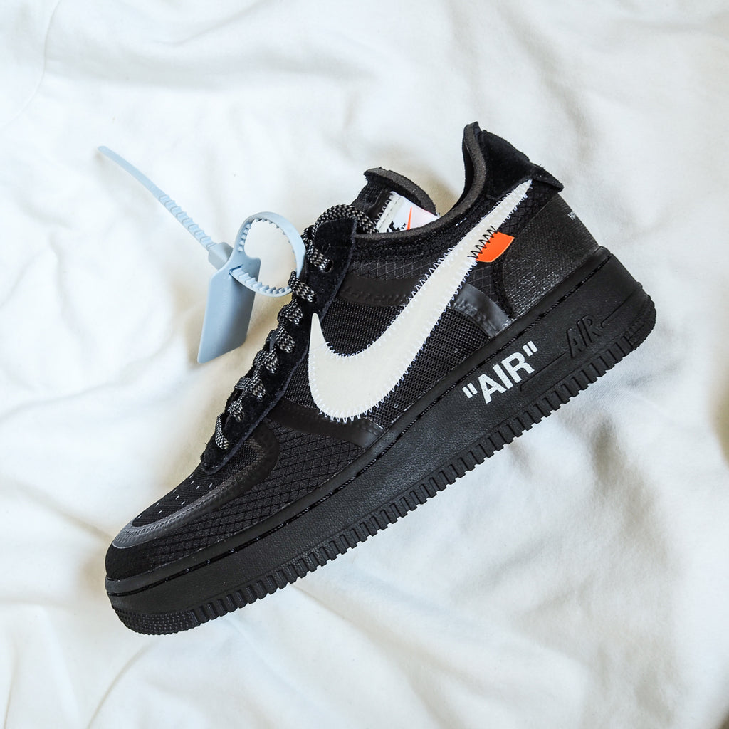 on sale c5f09 98489 Nike Air Force 1 Low Off-White Black White