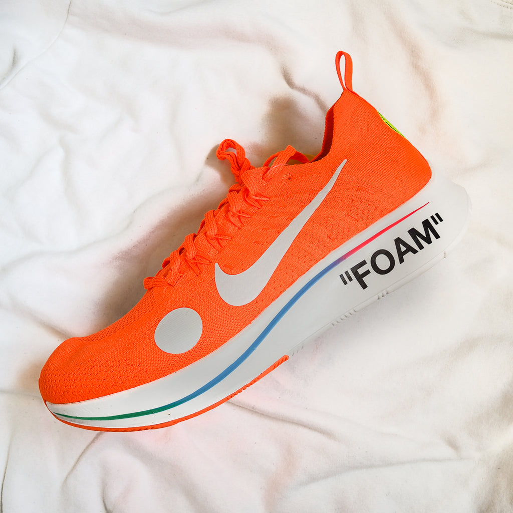d3c56744e2af Retro Gate - Nike Zoom Fly Mercurial Off-White Total Orange