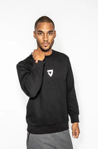 Icon Sweatshirt Black VIA FORTIS