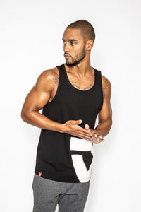 VIA FORTIS ICON TANK TOP BLACK