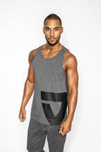 Lade das Bild in den Galerie-Viewer, VIA FORTIS ICON TANK TOP GREY