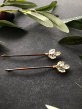 Load image into Gallery viewer, Decorative Crystal Bobby Pins (3+) | Casual Hair Accessories, Fancy Bobby Pins, Crystal Hair Accessory