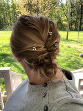 Load image into Gallery viewer, Crystal Bobby Pins (3+) | Casual Hair Accessories, Fancy Bobby Pins, Crystal Hair Accessory