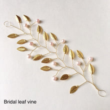 Load image into Gallery viewer, JULIEANNE - Blush Bridal Leaf Vine