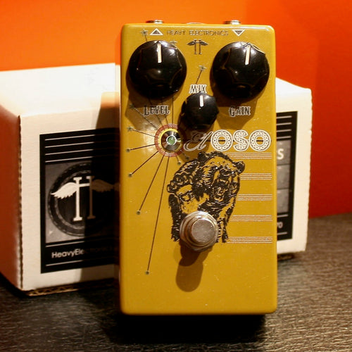 El Oso Bass distortion