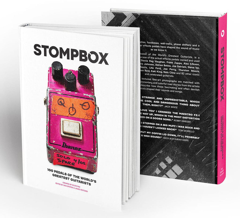 Stompbox: 100 Pedals of the World's Greatest Guitarists | Limited First Edition