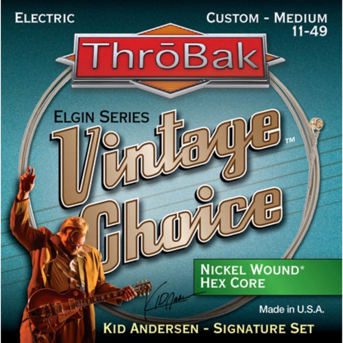 Vintage Choice Nickel Wound Hex Core Electric Guitar Strings