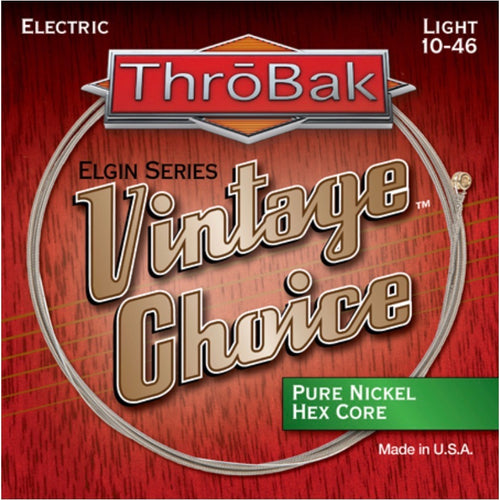 Vintage Choice Pure Nickel Hex Core Electric Guitar Strings