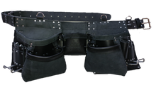 Load image into Gallery viewer, 100% Leather Tool Belt/Apron  - 201 Cadillac - Professional Quality