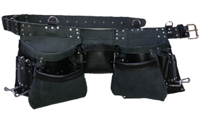 100% Leather Tool Belt/Apron  - 201 Cadillac - Professional Quality
