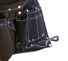 Load image into Gallery viewer, 100% Leather Tool Belt/Apron - 401 Cadillac - Professional Quality
