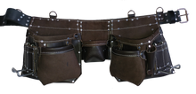 Load image into Gallery viewer, Quality Professional Leather Apron/Belt - 401 Cadillac - Tool Belt