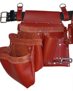 100% Leather Framing Tool Belt/Apron - 601 Cadillac - Professional Quality