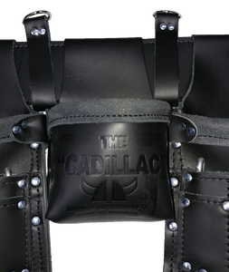 100% Leather Framing Tool Belt/Apron - 701 Cadillac - Professional Quality