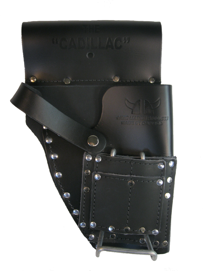 Combination Drill and Hammer Holster - 100% Boot Leather