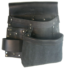 Load image into Gallery viewer, 100% Leather Electrician's Tool Pouch - Half Cadillac - Professional Quality