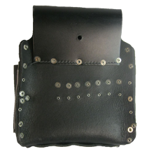 Load image into Gallery viewer, Electrician's and Tradesman's 100% Leather Tool Pouch
