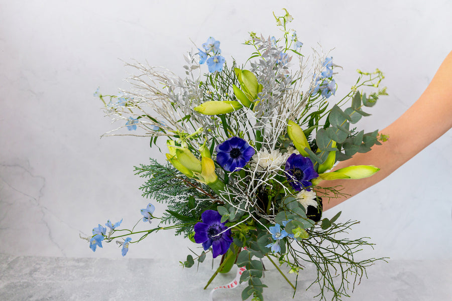 Pastel Winter bouquet