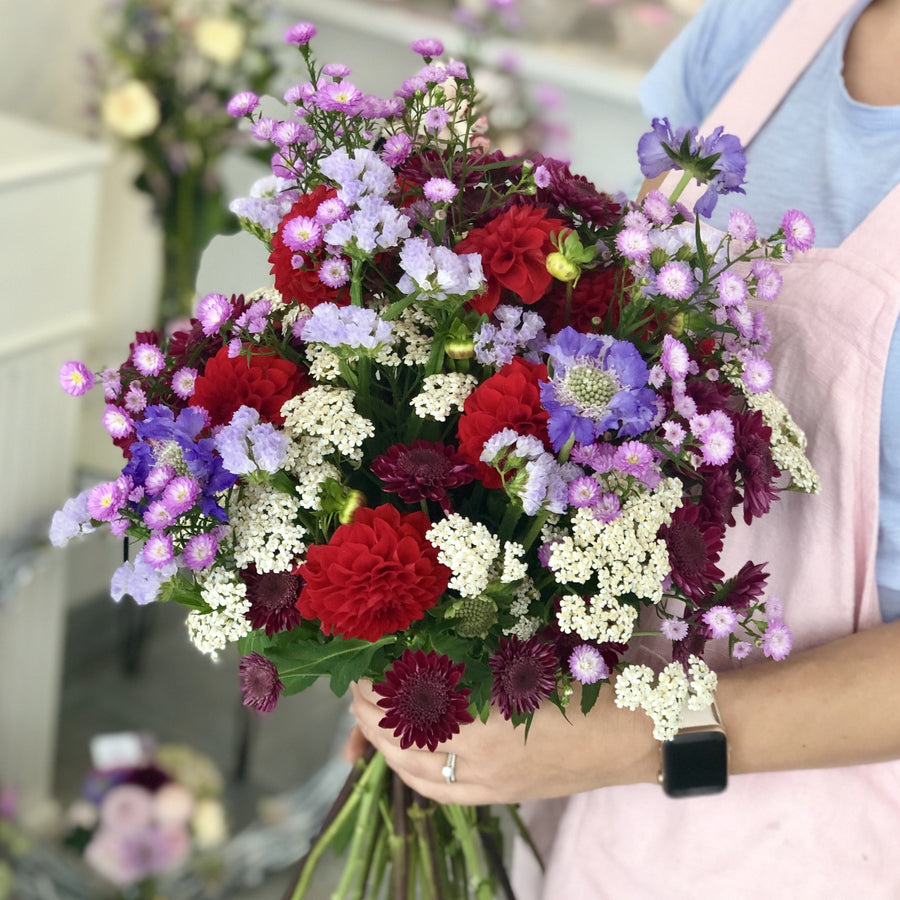 Colourful seasonal bouquet