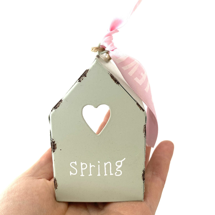 House for tea light SPRING