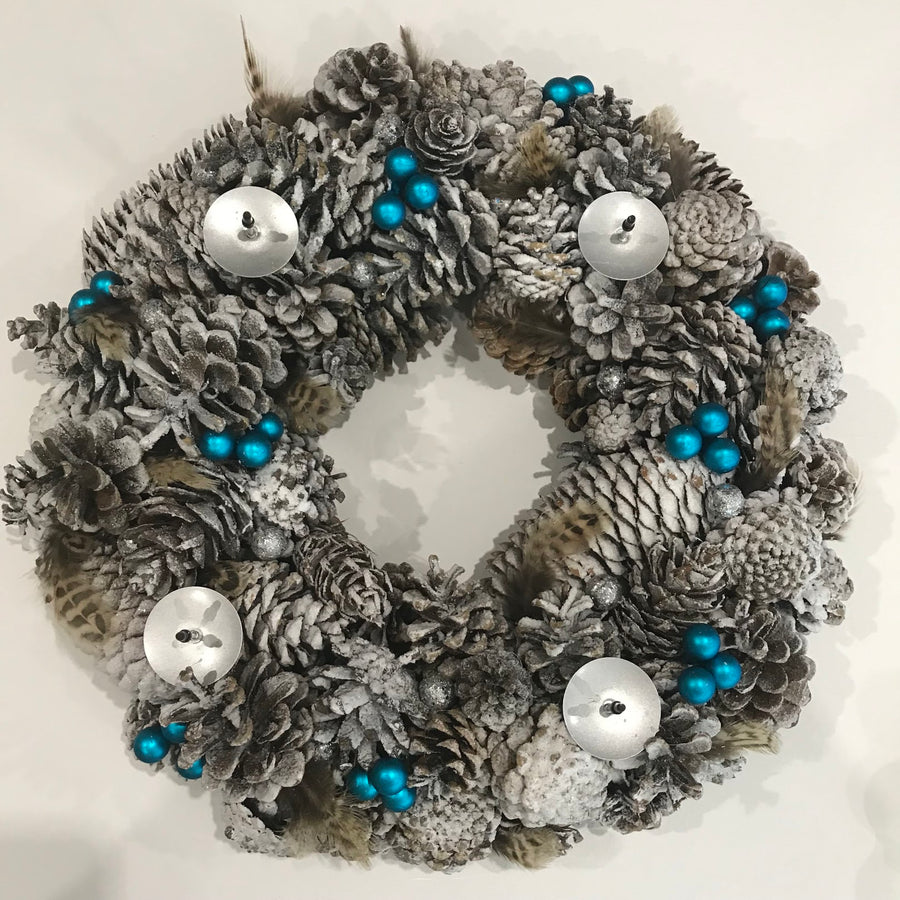 Custom Christmas wreath (deposit)