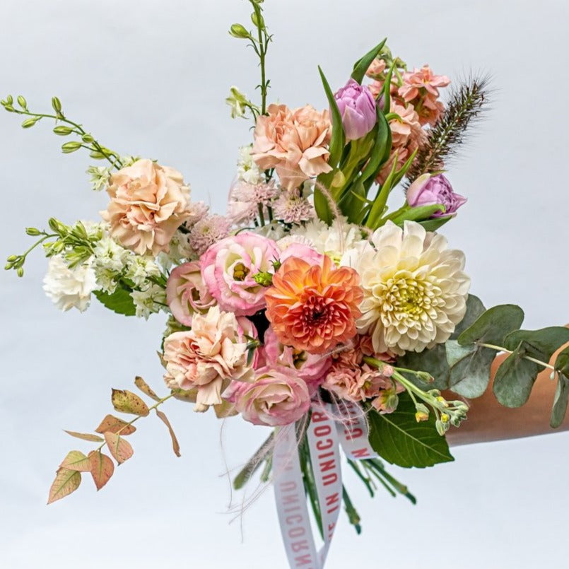 Autumn pastel bouquet