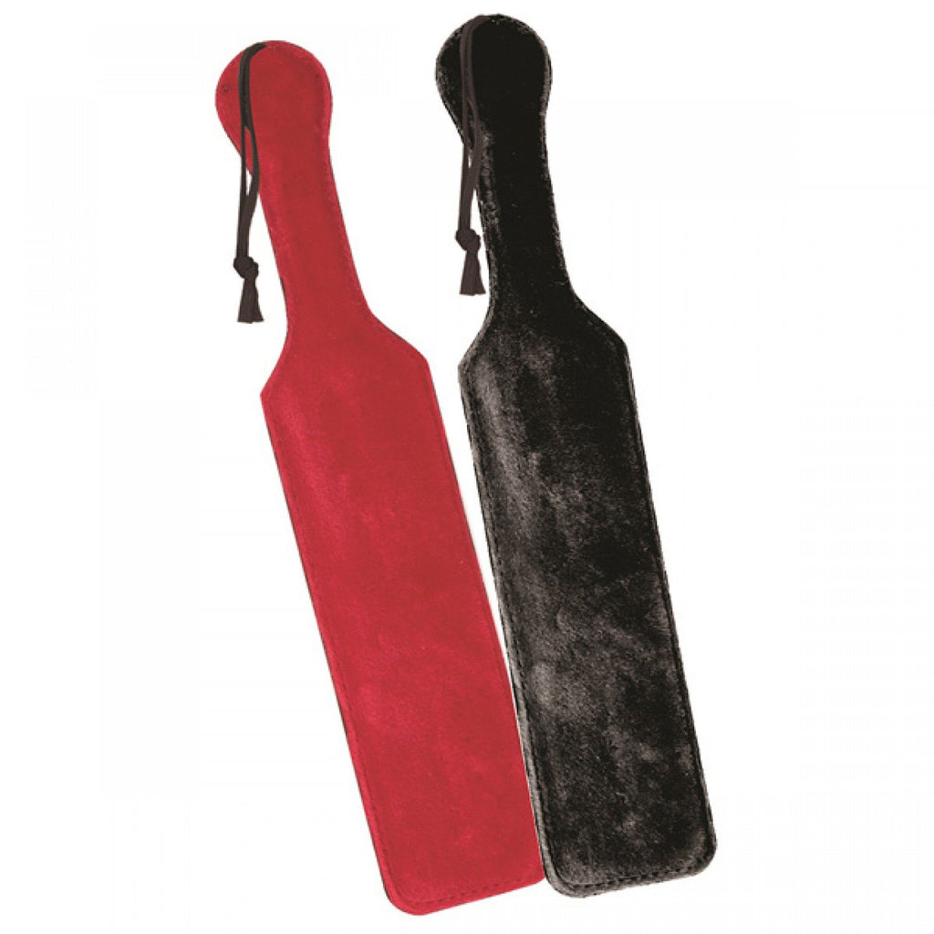 Sportsheets Leather Paddle w/ Black Fur Side