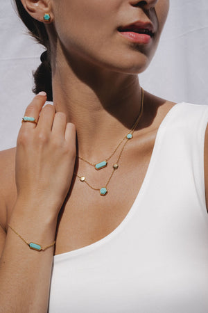Turquoise jewellery | Blue turquoise rings, earrings. necklaces and bracelets