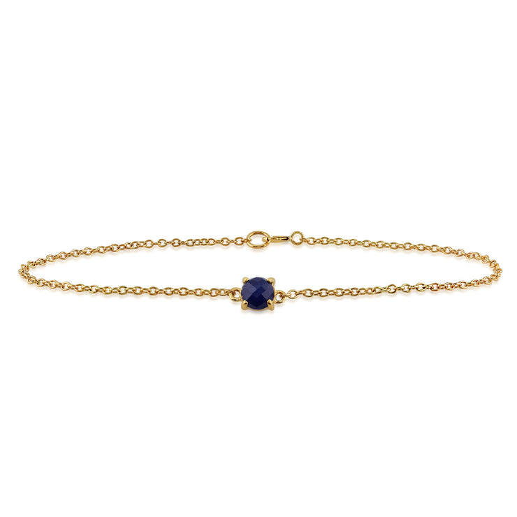 Classic Sapphire Checkerboard Bracelet Image 2