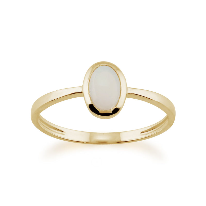 Oval Opal Ring Image 1