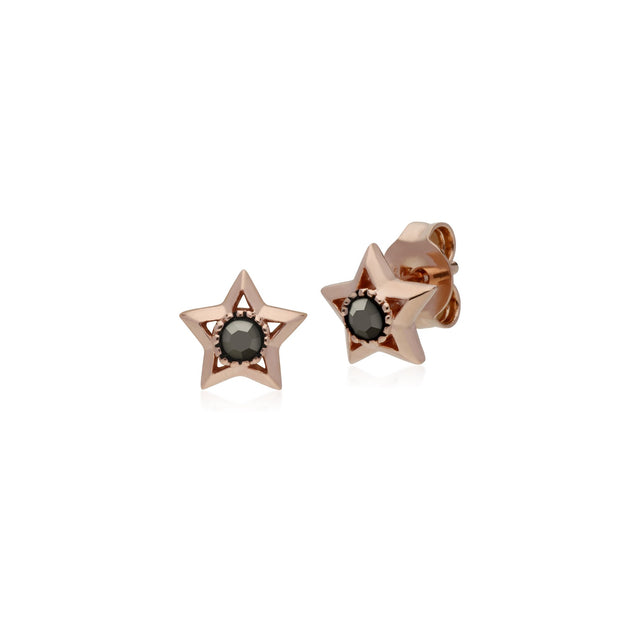Classic Marcasite Star Stud Earrings Image 1