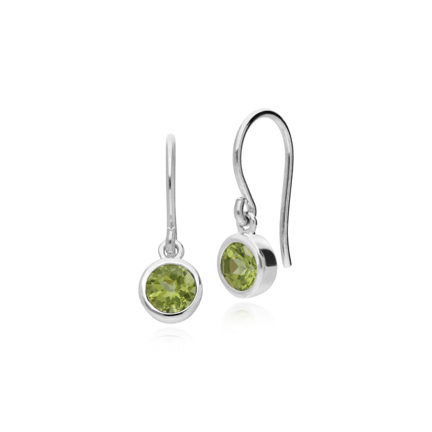 Essential Peridot Drop Earrings Image 1