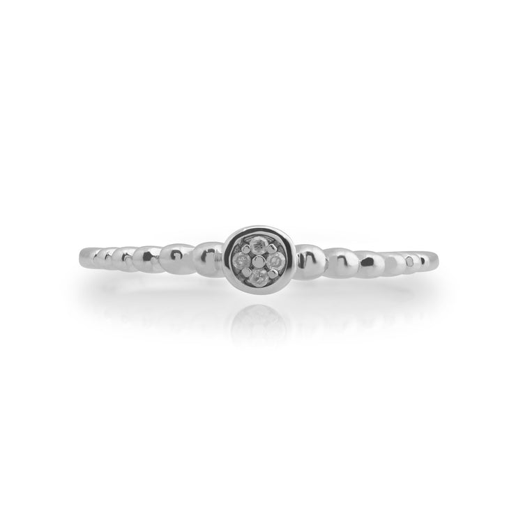 Essential Diamond Stack Ring Image 2
