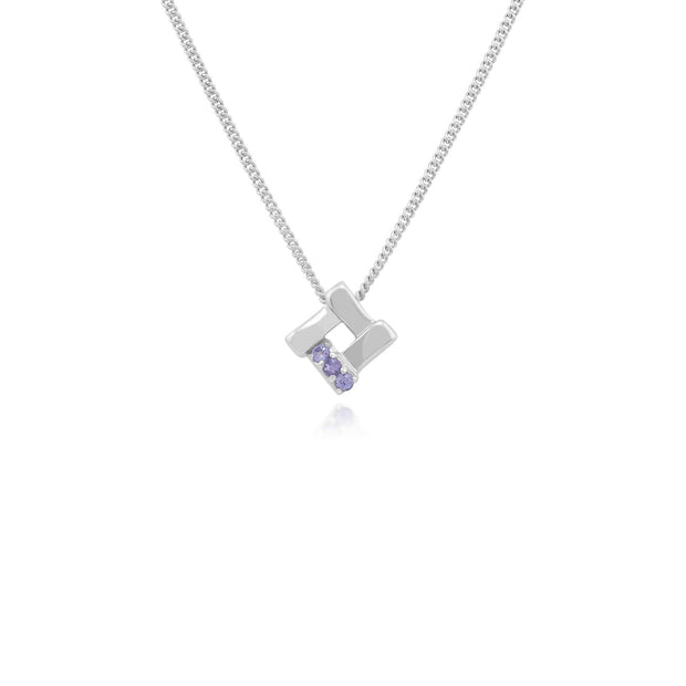 December Birthstone Tanzanite Jewellery Hamper