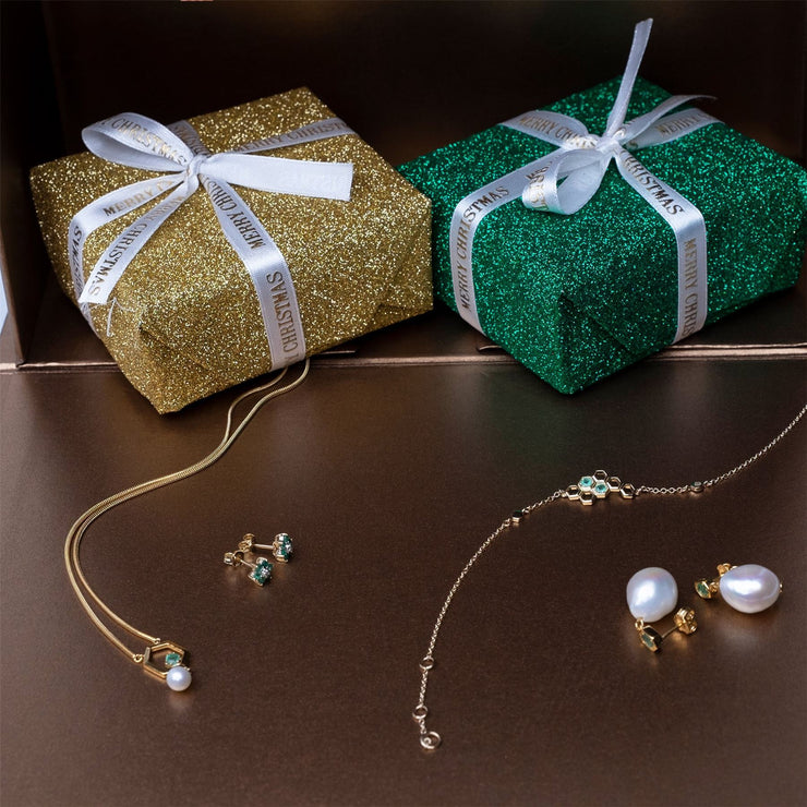 May Birthstone Emerald Jewellery Hamper