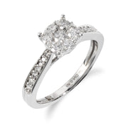 Diamond Solitaire Ring Image 1