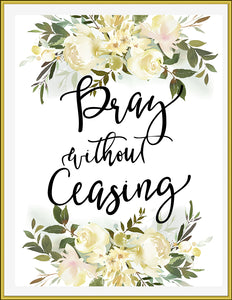 Pray Without Ceasing - TiraYoungShop